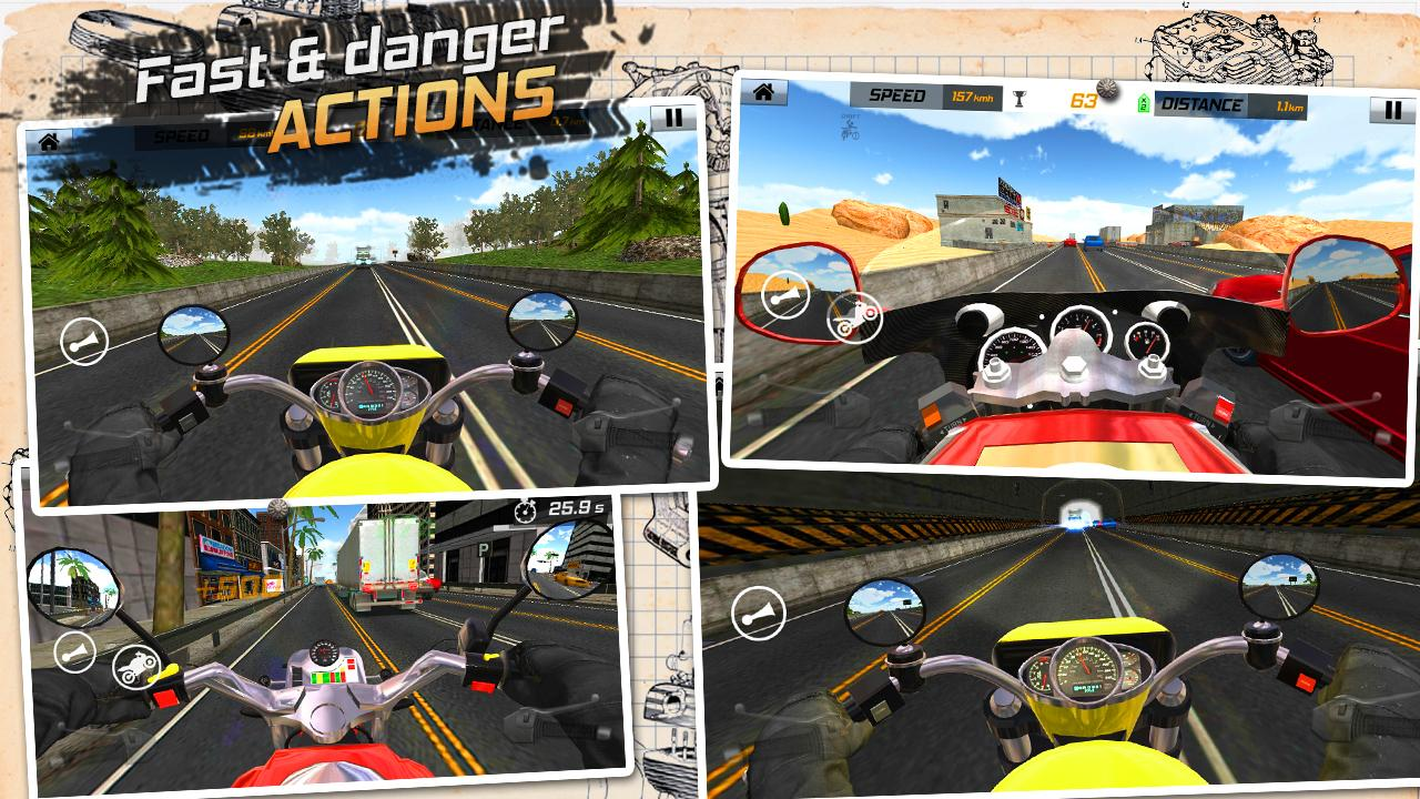 Traffic Rider: Highway Race- screenshot