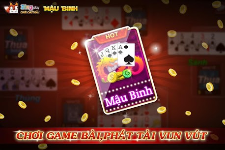 Poker VN – Mậu Binh – Binh Xập Xám – ZingPlay Apk  Download For Android 4
