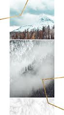 Winter Mountains - Photo Collage item