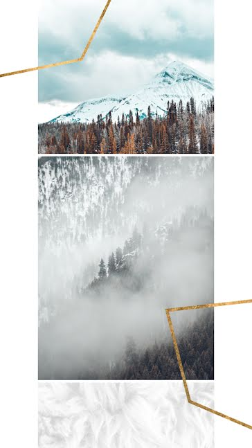 Winter Mountains - Facebook Story Template
