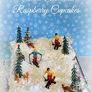 White Chocolate Raspberry Cupcakes Recipe