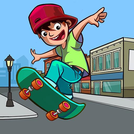 Skater Freestyle - Risky Skateboard