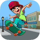 Skater Freestyle - Risky Skateboard icon