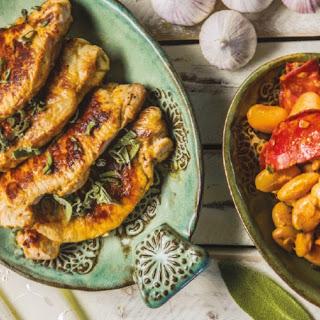 Pork, Chorizo and Butterbean Casserole.
