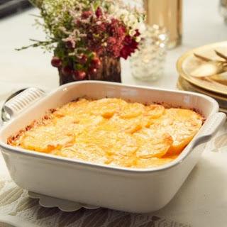 Cheesy Potatoes au Gratin.