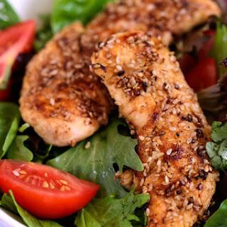 Sesame Chicken Salad.