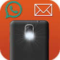 Flashlight Alert On Call & SMS icon