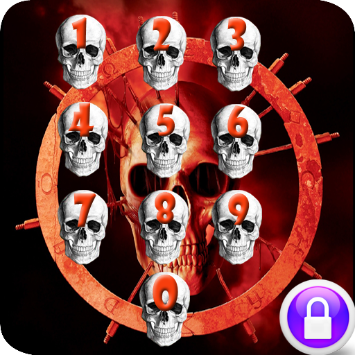 骷髏密碼鎖屏 娛樂 LOGO-玩APPs