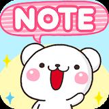 Sticky Notes White Bear