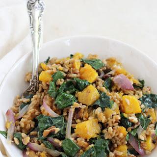 Fall Farro Salad with Butternut Squash Recipe