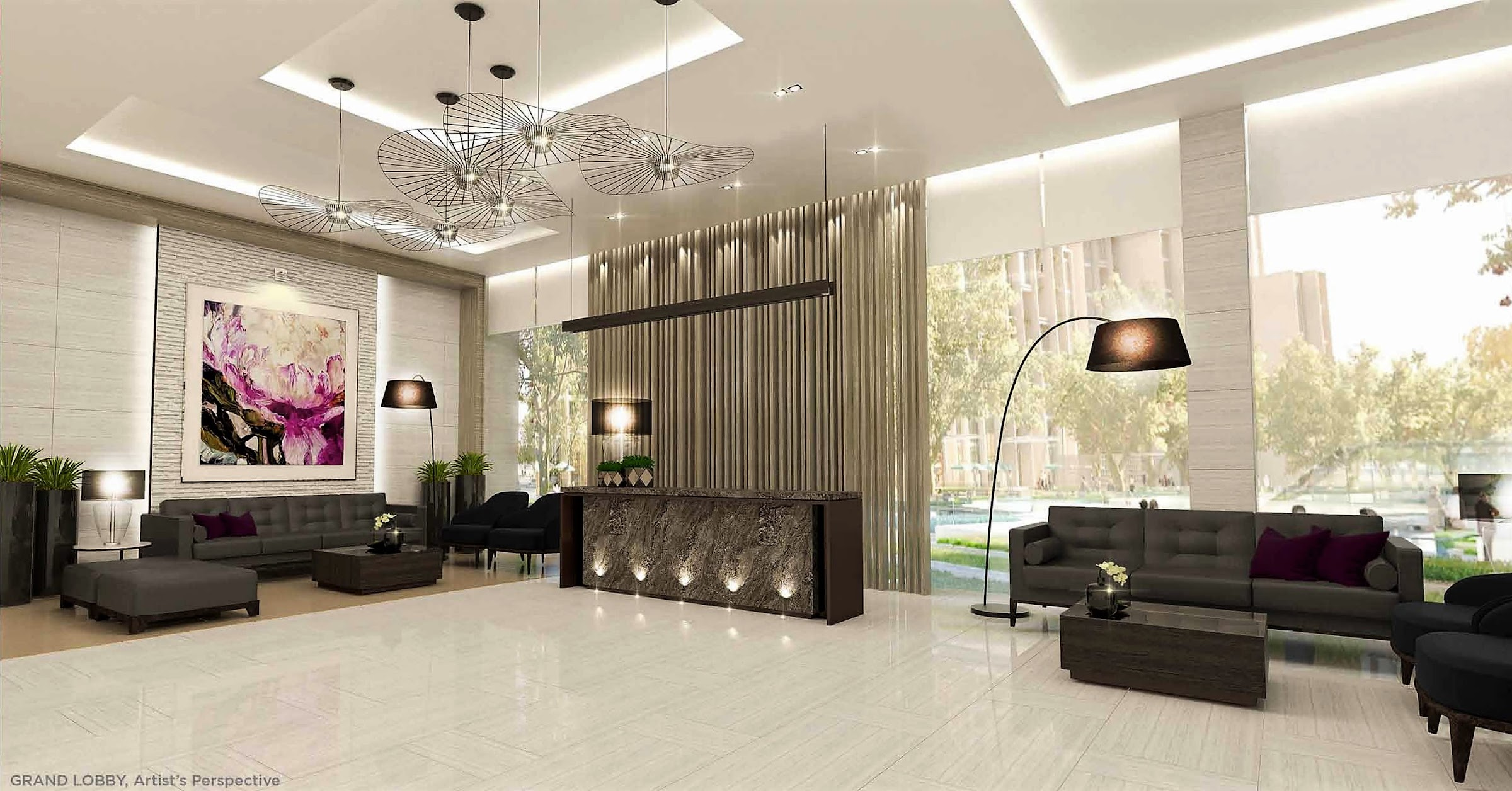Bloom Residences, Sucat, Paranaque City lounge area