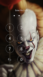 pennywise wallpaper lock screen - náhled