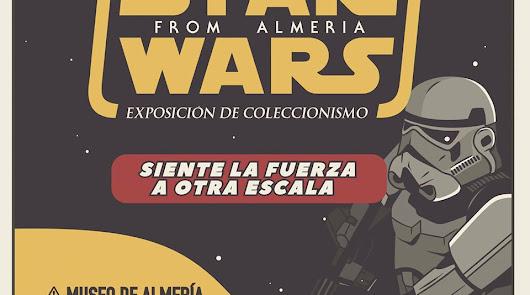 Que la fuerza te acompañe en la exposición de Star Wars en el Museo de Almería