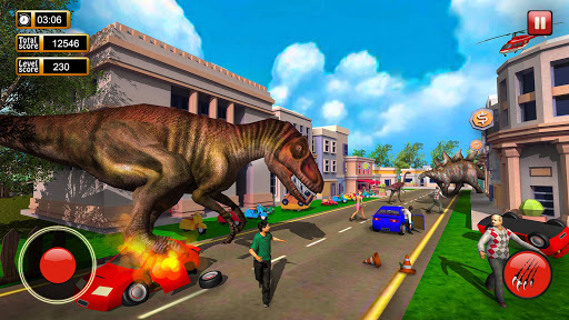 Monster Dinosaur Simulator: City Rampage screenshots 1