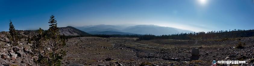 Photo: Looking Down Shasta