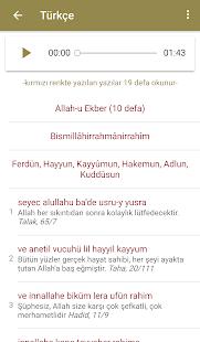 Sekine Duası Ekran Görüntüsü