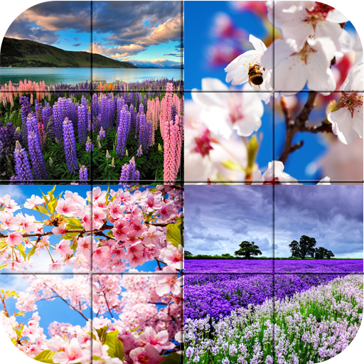 拼图 - 春暖花开的季节 解謎 App LOGO-APP試玩