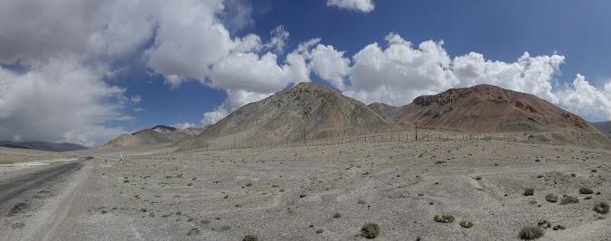 Auf dem Weg nach Kirgistan haben wir sehr starkern Gegenwind.