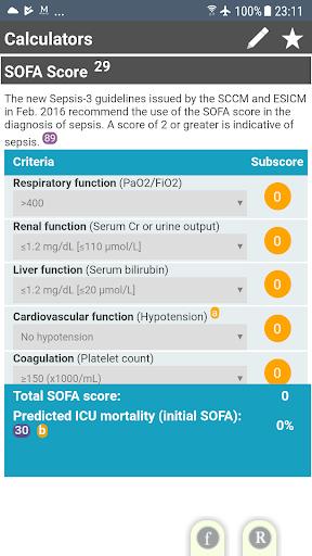 Sepsis Clinical Guide screenshot