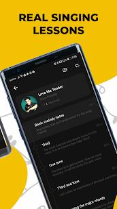 Singing app Vocaberry Mod Apk Vocal training. Karaoke (Unlocked) 3