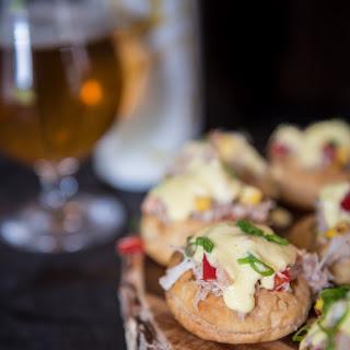 Crab Tarts with Saison Béarnaise Sauce.