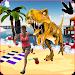 Dino Beach Attack APK