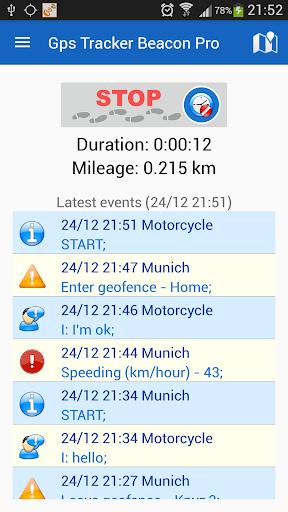 GPS Tracker Beacon Pro