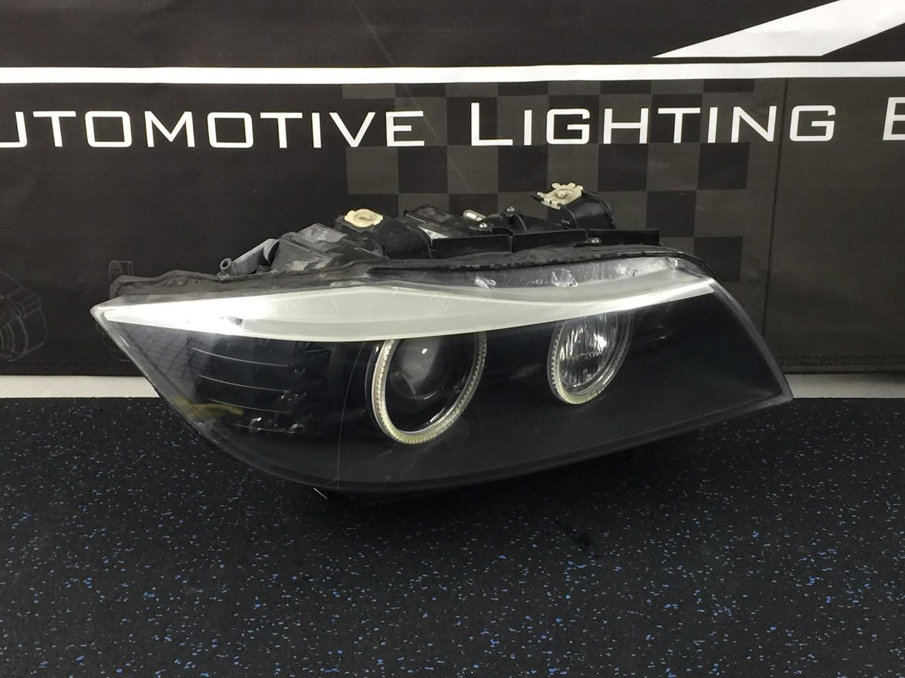 BMW E90 335i LCI HID: Manatee Retrofit (Murano Bi-X), Angel