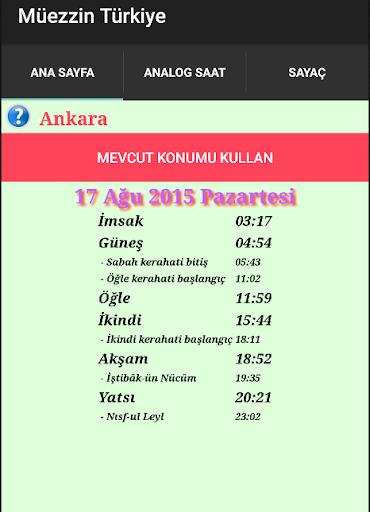 Muezzin Turkey