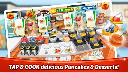 Cooking World - Chef Food Games & Restaurant Fever APK screenshot thumbnail 1