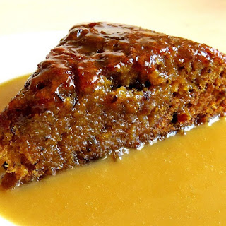 Slow Cooker Orange Pudding Cake with Caramel Sauce