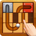 Unblock The Ball - Roll & Drag Block Puzzle Games icon