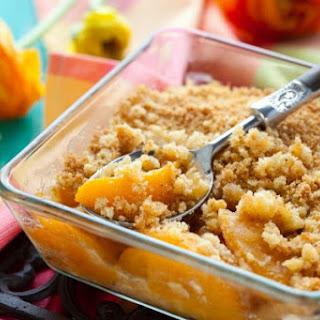 Grain Free Peach Cobbler (Egg-Free/Starch-Free)