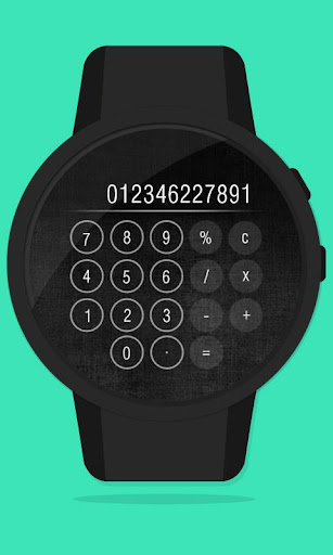 CalC - Now on your wrist