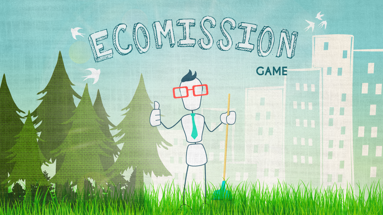 EcoMission game- screenshot
