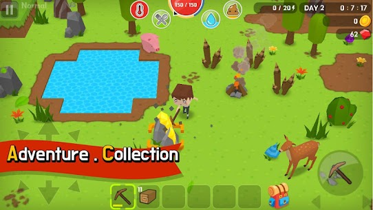 Mine Survival MOD Apk (Free Shopping) 1