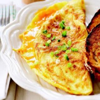 Chicken Liver Omelette.
