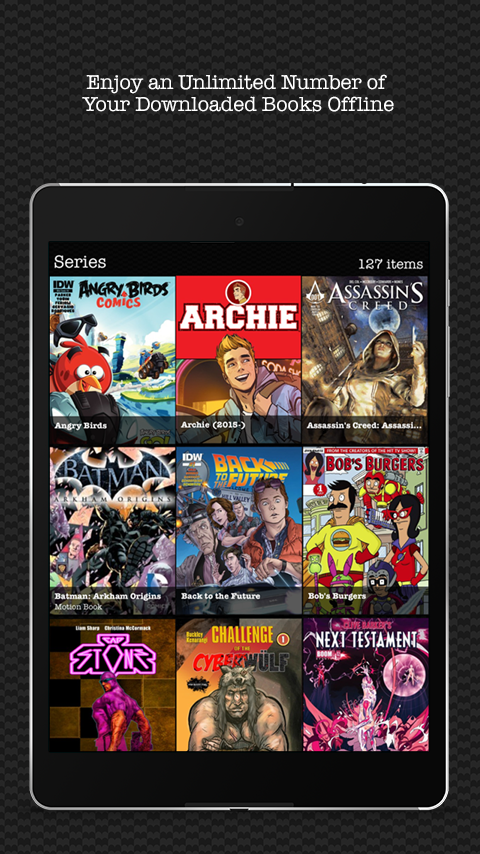 Madefire Comics & Motion Books screenshot #7