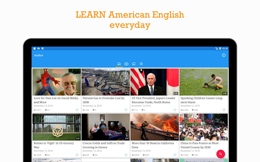 VOA Learning English - Practice listening everyday screenshots 8