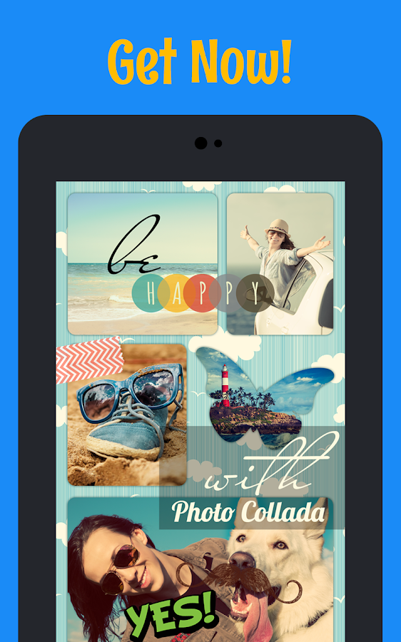 Photo Collada collage maker- screenshot