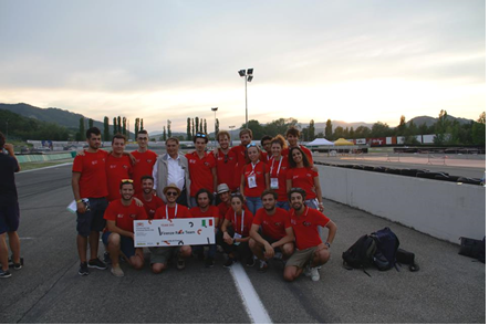 ANSYS | Команда FRT заняла второе место на Formula Student Italy