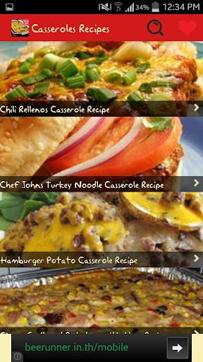 Casseroles Recipes 2.0 screenshots 1