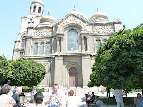 Photo: Varna, Bulgaria - Eastern Orthodox Cathedral of the Assumption.