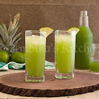 Kiwi Pineapple & Lime Squash (Sharbat/Drink Mix)