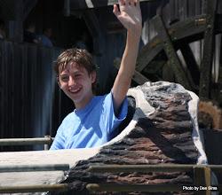 Photo: (Year 3) Day 25 - Edward on the Log Flume #6
