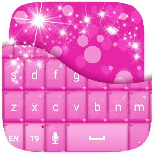 心粉紅鍵盤 個人化 App LOGO-APP試玩