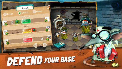 The Rats: Feed, Train and Dress Up Your Rat Family filehippodl screenshot 2