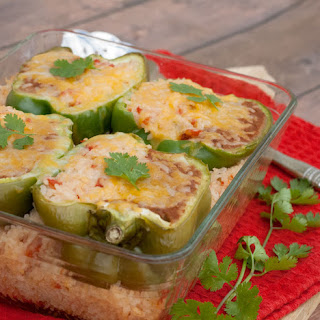 Mexican Style Stuffed Peppers with a Twist