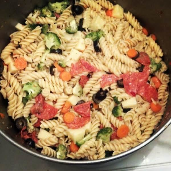 From Instagram: Pasta Salad For Gabby's Party Http://instagram.com/p/pglarkexea/