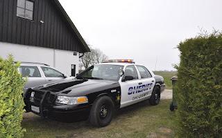 Ford Crown Victoria Police Inspector Sheriff Rent Skåne